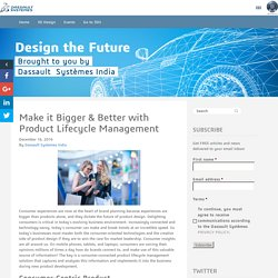 Product Lifecycle Management, PLM Solution by Dassault Systemes