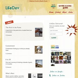 LifeDev — Helping Creative People Create
