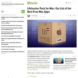 Pack for Mac: Our List of the Best Free Mac Apps