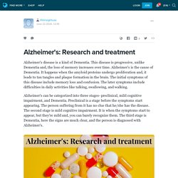 Alzheimer's: Research and treatment: lifeinsightusa — LiveJournal