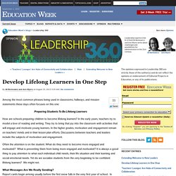 Develop Lifelong Learners in One Step - Leadership 360