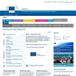 Lifelong Learning Programme 2007-2013