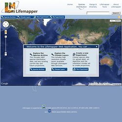 Lifemapper Web App