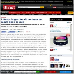 Liferay, la gestion de contenu en mode open source