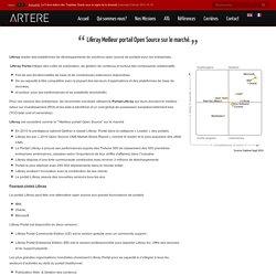 Liferay Meilleur portail Open Source sur le marché