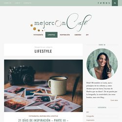 Lifestyle Archivos - Mejor con Café