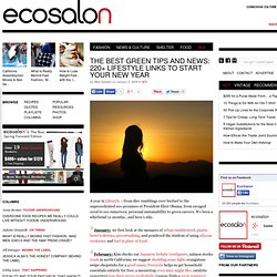 EcoSalon: Organic Green Fashion, Design, Food, Tech, Travel, Culture, Pets and Lifestyle