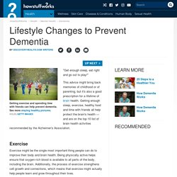 Lifestyle Changes to Prevent Dementia