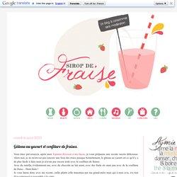 Sirop de fraise - Blog mode, lifestyle et DIY.: Gâteau au yaourt et confiture de fraises.