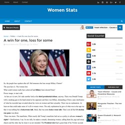 Women Stats - Lifestyle, Entertainment News, Politics and Women Games