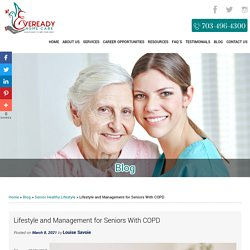 Lifestyle and Management for Seniors With COPD