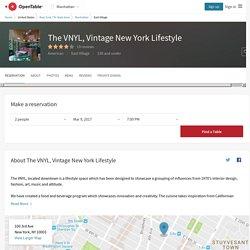 The VNYL - Vintage New York Lifestyle Restaurant in New York, NYC