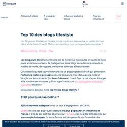 Le top 10 des blogs lifestyle à suivre absolument en 2019