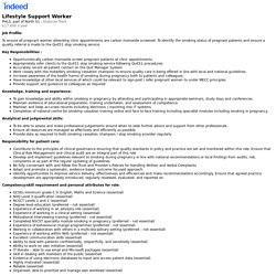 Lifestyle Support Worker - Stoke-on-Trent - Indeed Mobile