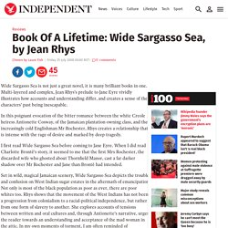 Book Of A Lifetime: Wide Sargasso Sea, by Jean Rhys
