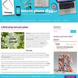 Lifetramp lesson plan