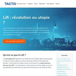 Lifi : révolution ou utopie ?
