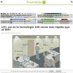 LiFi, así es la tecnología 100 veces más rápida que el WiFi