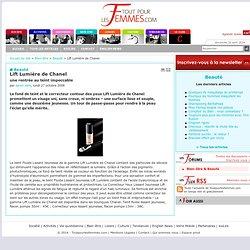 Fond de teint Chanel & Hydroxyde d'aluminium