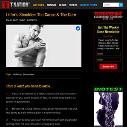 Lifter's Shoulder: The Cause & The Cure