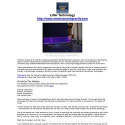 Lifter Technology