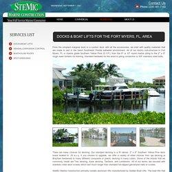 Boat Lifts & Docks in Fort Myers, FL
