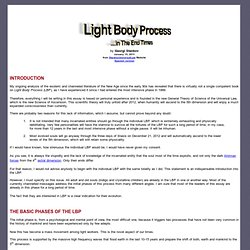 Light Body Process in The End Times
