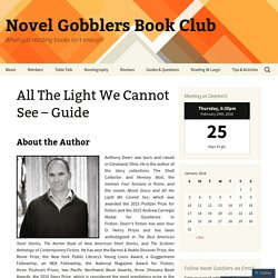 All The Light We Cannot See – Guide