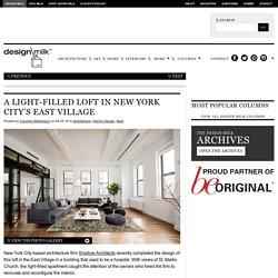 A Light-Filled Loft in New York City's East Village