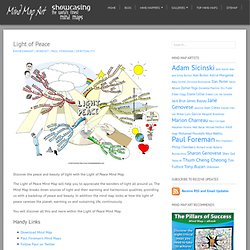 Light of Peace Mind Map | Mind Map Art