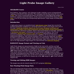 Light Probe Image Gallery
