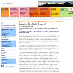 Into the Light: sexual abuse – support info and resources