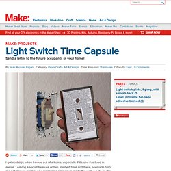 Light Switch Time Capsule