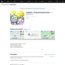 Lightbot : Programming Puzzles en AppStore