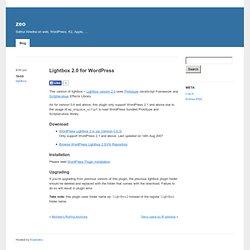 Lightbox 2.0 for WordPress