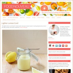 Lighter Lemon Curd - Food Nouveau