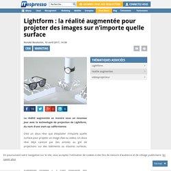 Lightform: la réalité augmentée pour projeter des images sur n'importe quelle surface