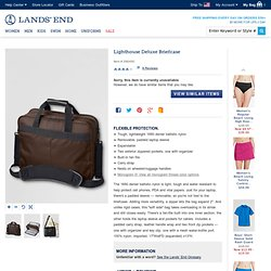 Lighthouse Deluxe Briefcase from Lands