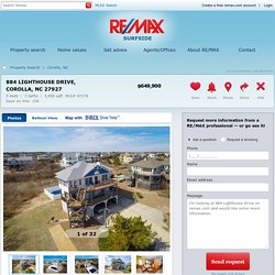 884 Lighthouse Drive Corolla, NC 27927 For Sale - RE/MAX