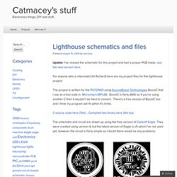 Lighthouse schematics and files