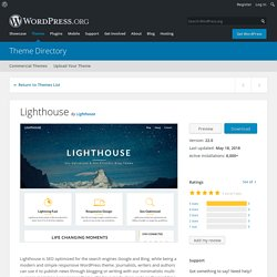 Lighthouse – WordPress theme