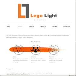 Stylish interior LED lighting