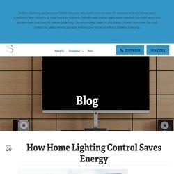 How Home Lighting Control Saves Energy
