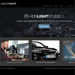 HDRI Lighting Design Software: HDR Light Studio