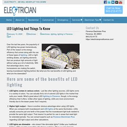 LED Lighting And Things To Know