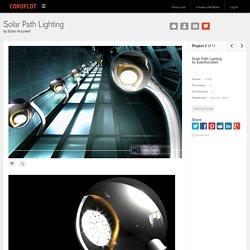 Solar Path Lighting by Edan Kurzweil at Coroflot.com