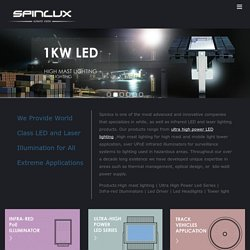 Best High Mast Lighting,High Power Led Manufacturer-Spinlux