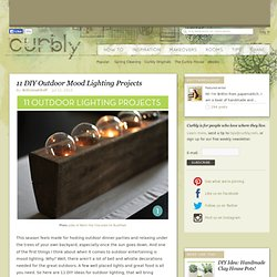11 DIY Outdoor Mood Lighting Projects