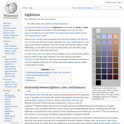 Lightness