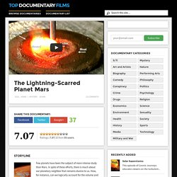 The Lightning-Scarred Planet Mars